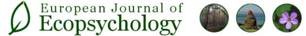 European Journal of  Ecopsychology